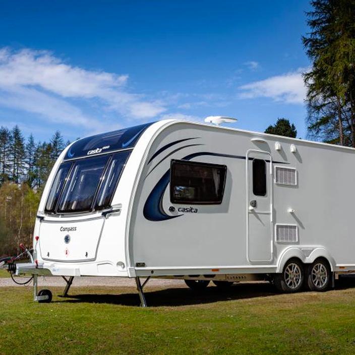 Caravans background image